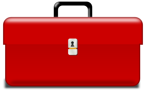 Free Red Toolbox Clip Art - Toolbox Clipart