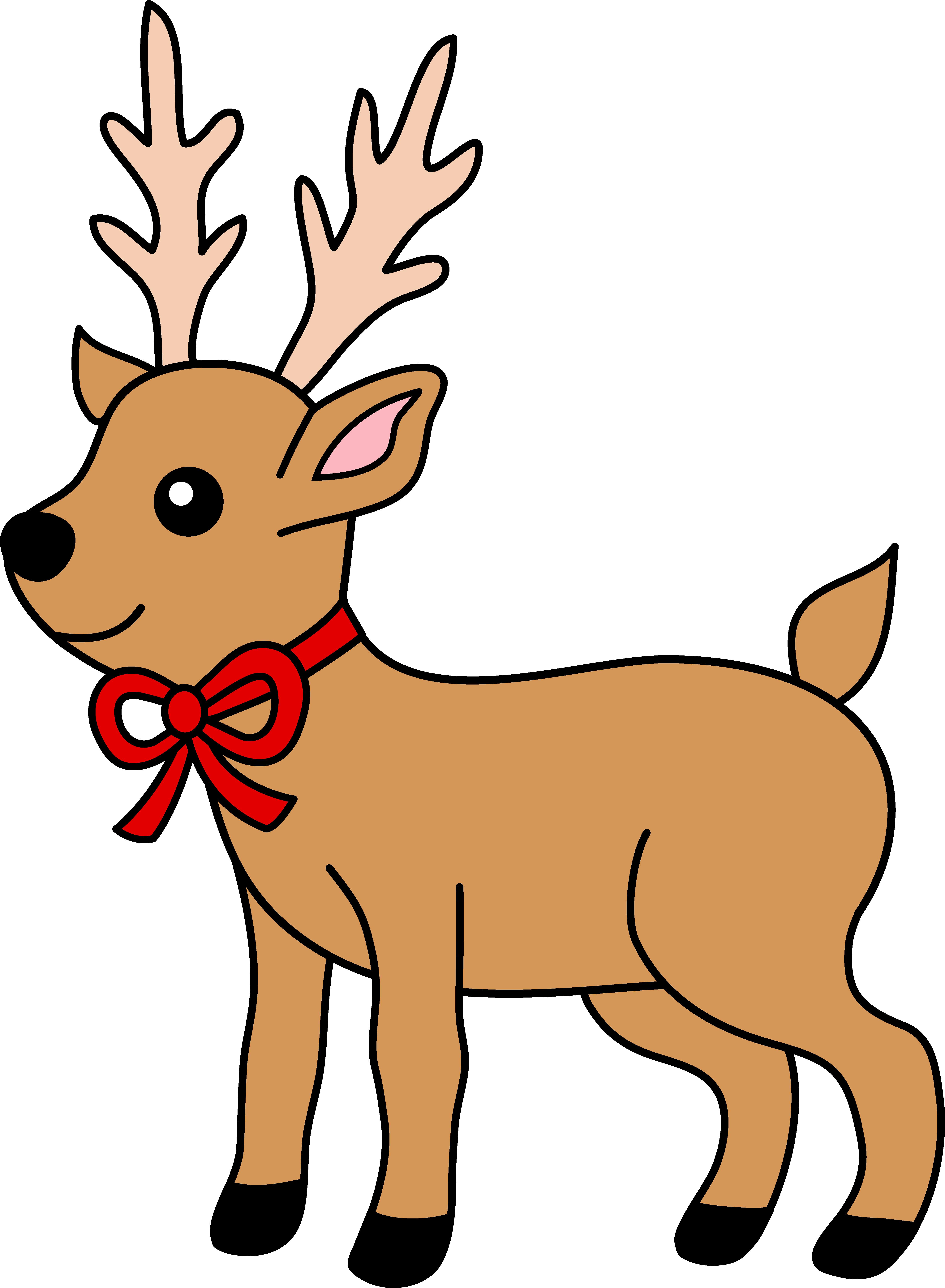 Free Reindeer Clip Art