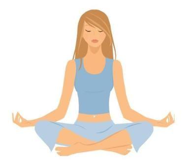 Free relaxing clip art footpath yoga chakra 1 muladhara