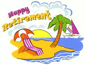 Free retirement clipart