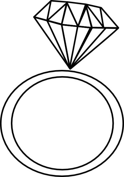 Free ring clipart black and .-Free ring clipart black and .-13