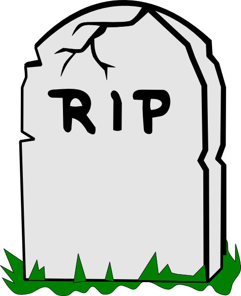 Free RIP Tombstone Clip Art