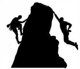 Free Rock Climbing Clipart