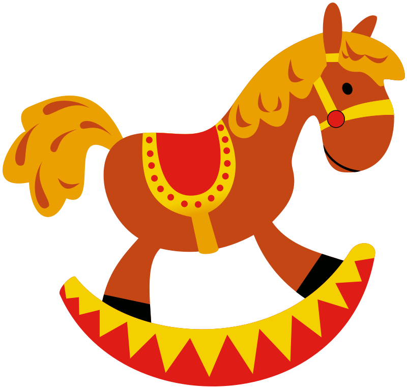 Free Rocking Horse Clip Art