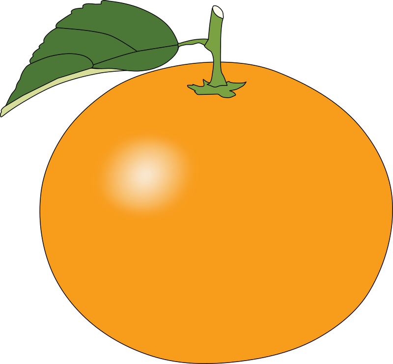 Free Round Orange Clip Art U0026middot; -Free Round Orange Clip Art u0026middot; orange14-1