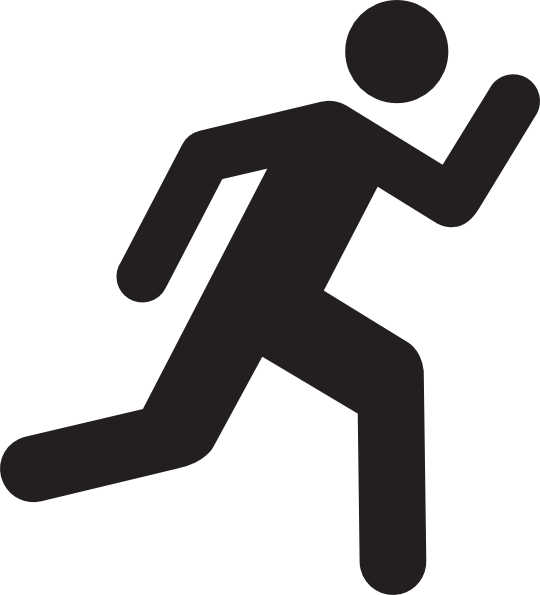 Free Running Clipart-Free Running Clipart-3