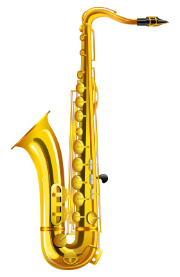 Free Saxophone Clipart-Free Saxophone Clipart-7