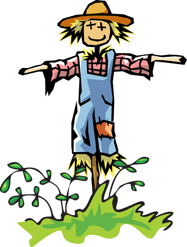 Free scarecrow clipart image