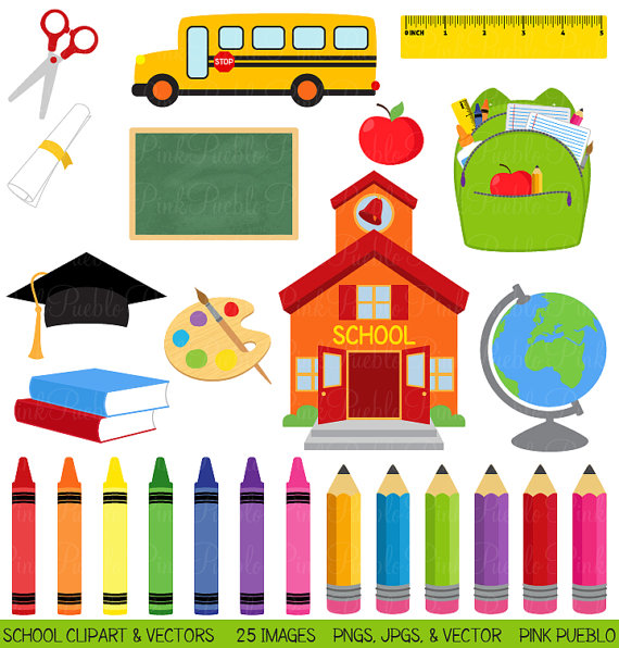 Free School Clip Art for Teachers