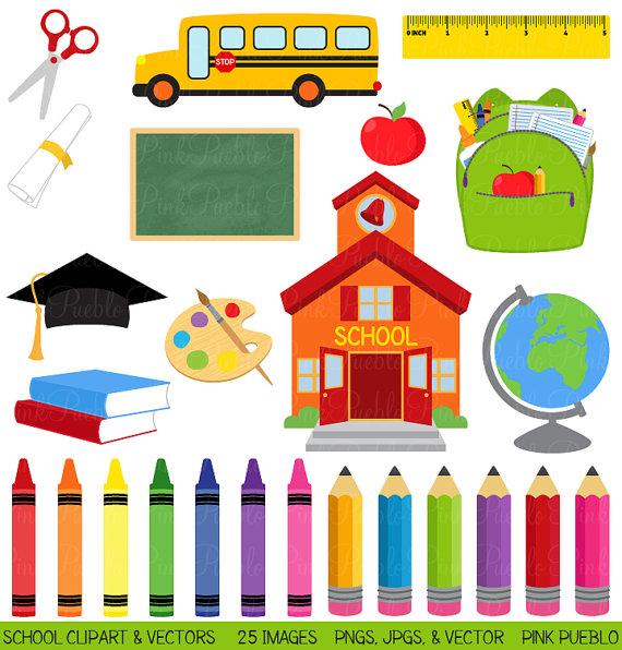 Free School Clip Art for Teachers-Free School Clip Art for Teachers-6