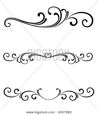Free Scroll Line Clipart #1-Free Scroll Line Clipart #1-4