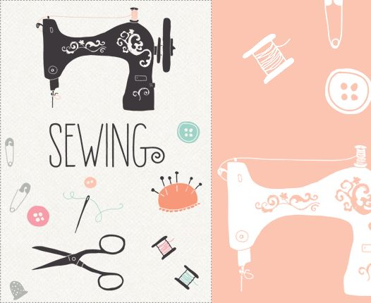 Free Sewing Clipart. clip art. Sewing