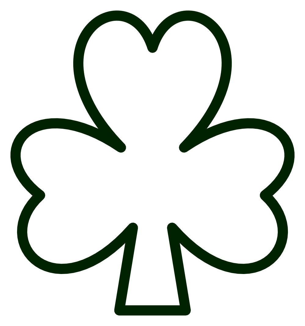 ... Free Shamrock Clip Art Pictures - Cl-... Free Shamrock Clip Art Pictures - Clipartix; Shamrock clipart outline ...-6