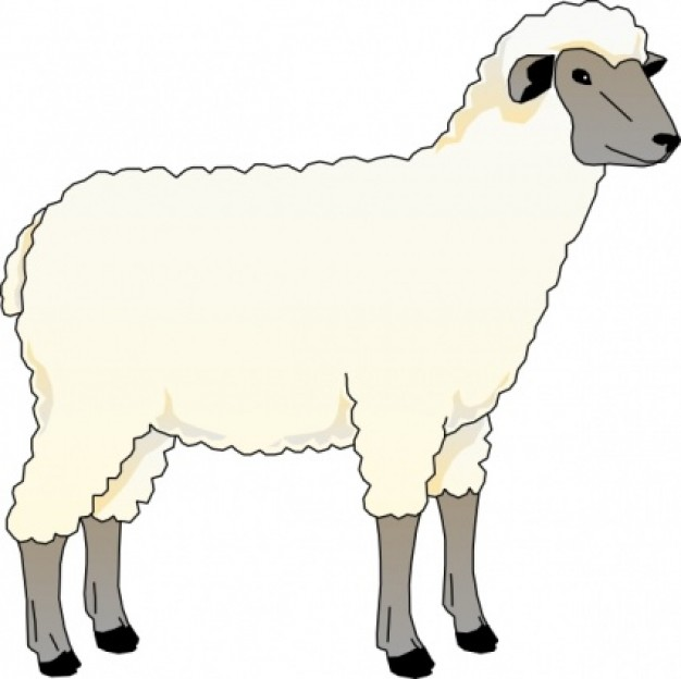 Free sheep clip art pictures-Free sheep clip art pictures-15