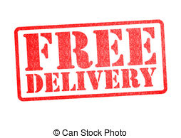 . ClipartLook.com FREE DELIVERY Rubber S-. ClipartLook.com FREE DELIVERY Rubber Stamp over a white background.-3