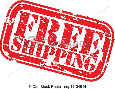 free shipping clipart grunge  - Free Shipping Clipart