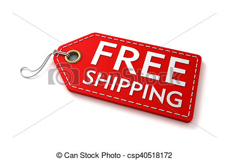 Free Shipping Shopping Tag 3d Illustrati-Free Shipping Shopping Tag 3d Illustration-11