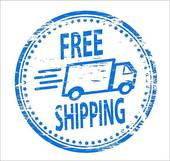 Free shipping with aeroplane · Free Shi-Free shipping with aeroplane · Free Shipping Stamp-14