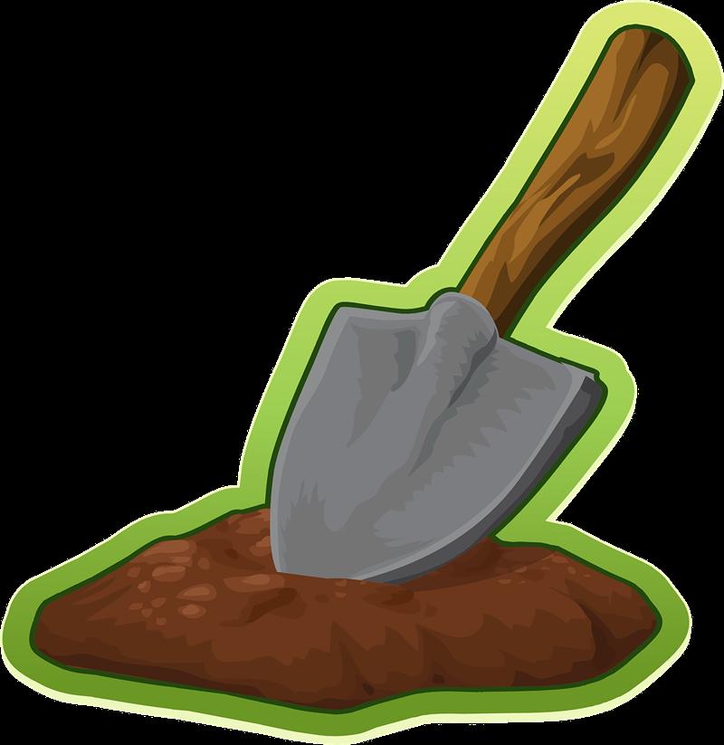 Free Shovel Clip Art