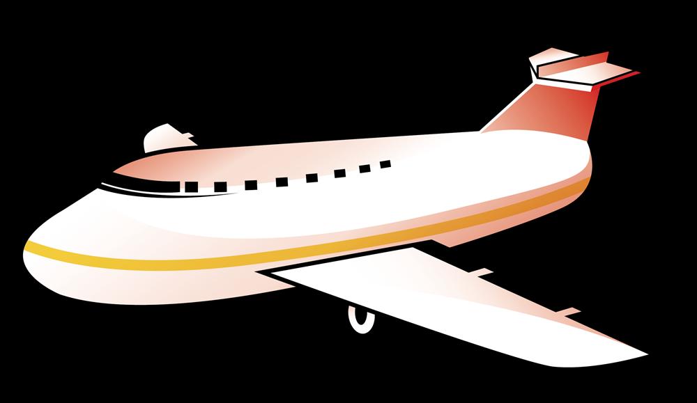 Free Simple Airplane Clip Art