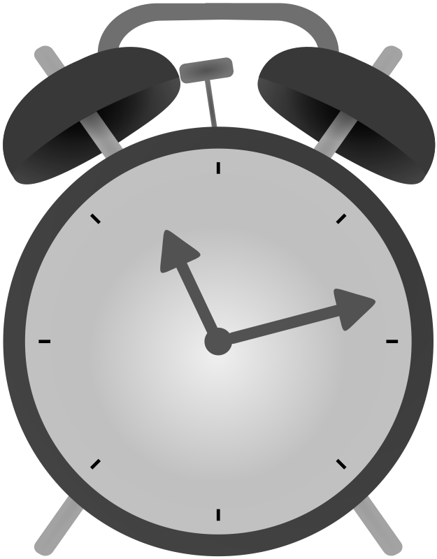 Free Simple Alarm Clock Clip Art