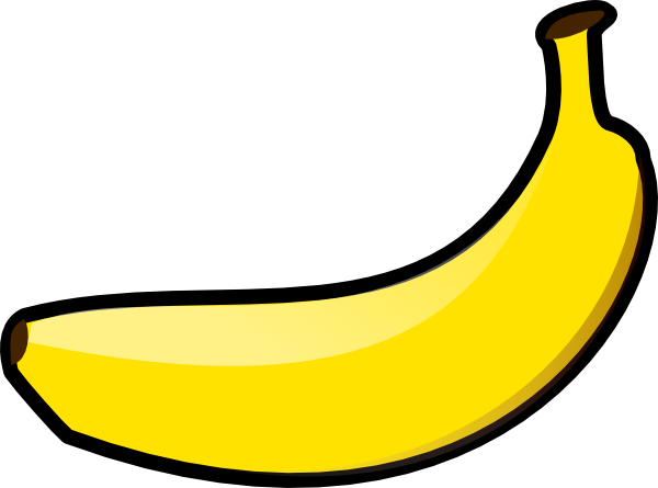 Free Simple Banana Clip Art-Free Simple Banana Clip Art-3