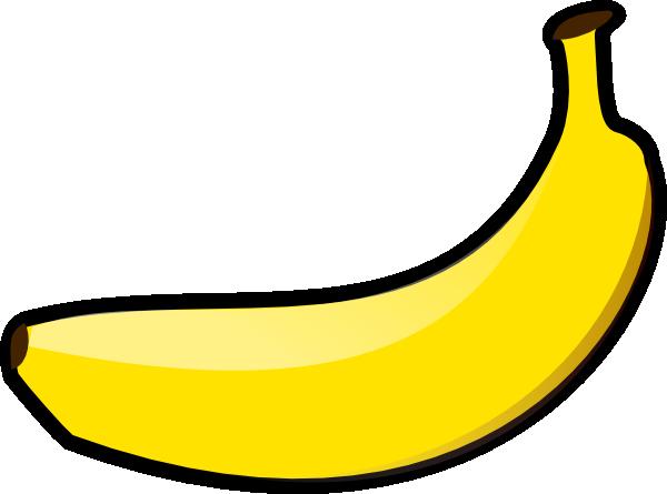 Free Simple Banana Clip Art