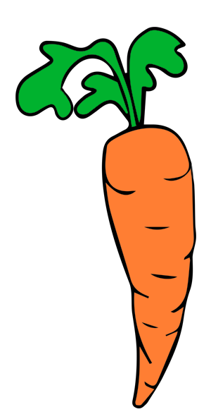 Free Simple Carrot Clip Art U0026middot;-Free Simple Carrot Clip Art u0026middot; carrots13-17
