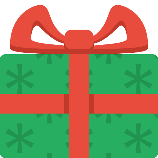 Free Simple Christmas Gift Cl - Christmas Gift Clip Art