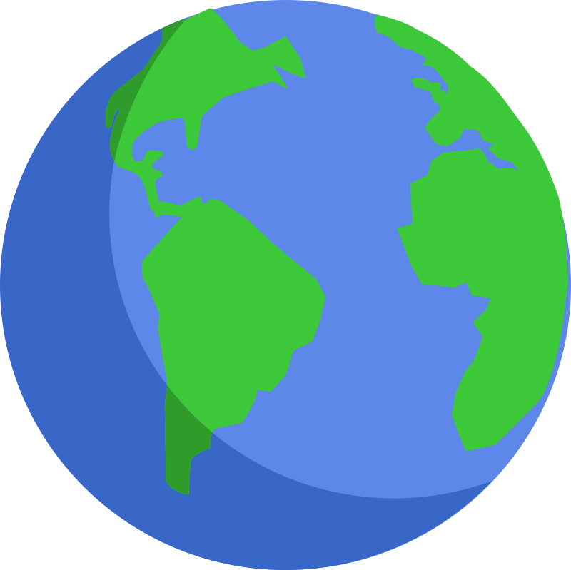 Earth simple. Clip art clipartlook