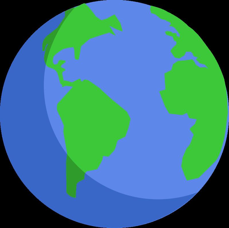 Free Simple Earth Clip Art