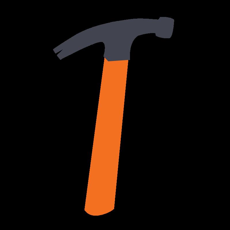 Free Simple Hammer Clip Art u0026middot; hammer4