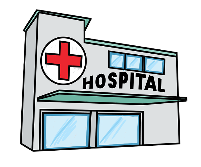 Free Simple Hospital Building Clip Art u0026middot; hospital5
