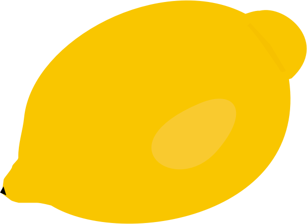 Free Simple Lemon Clip Art