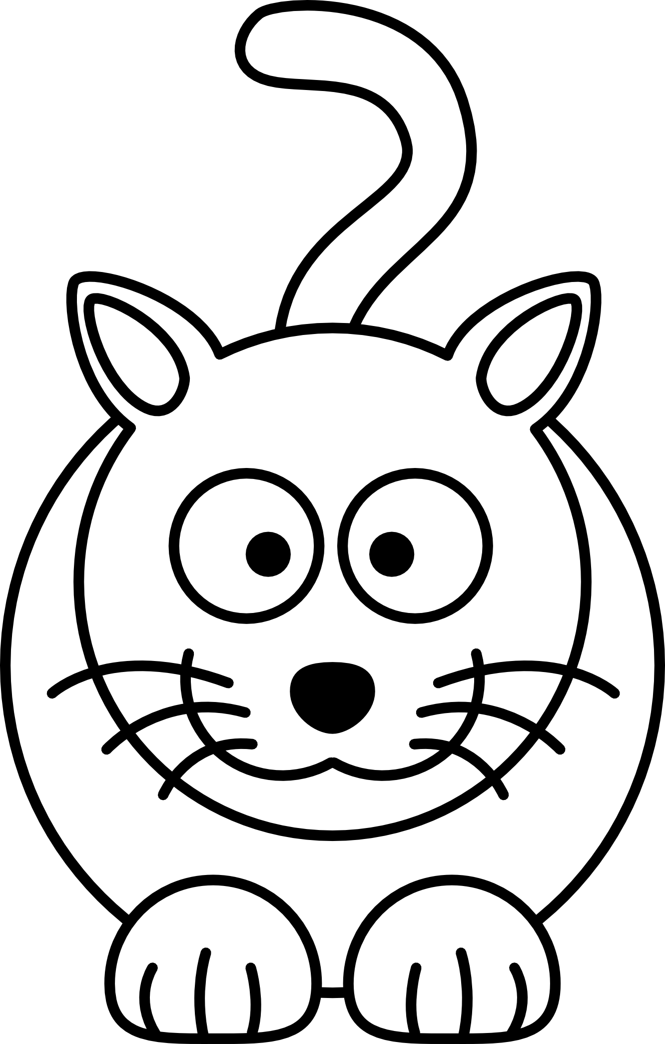 Free Simple Line Drawings .-Free Simple Line Drawings .-11