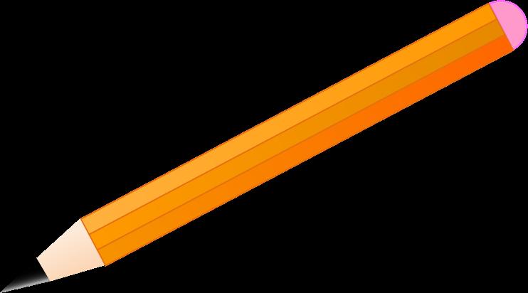 Free Simple Pencil Clip Art