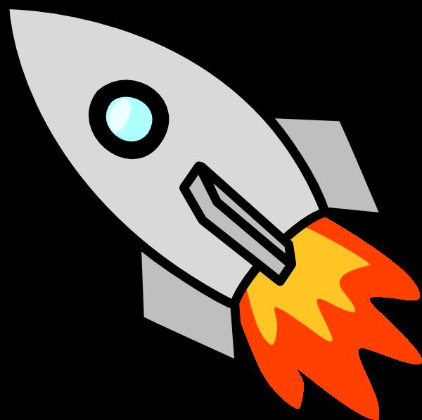 Free Simple Rocketship Clip Art-Free Simple Rocketship Clip Art-3