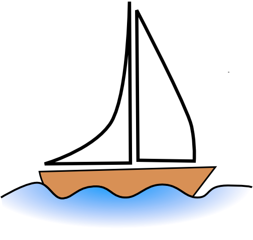 Free Simple Sailboat Clip Art-Free Simple Sailboat Clip Art-5