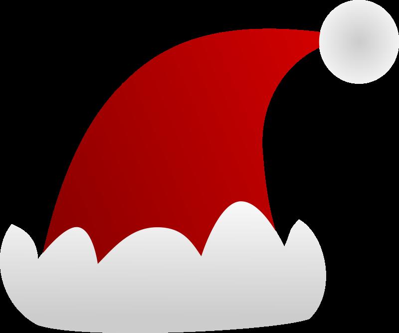 Free Simple Santa Hat Clip Art