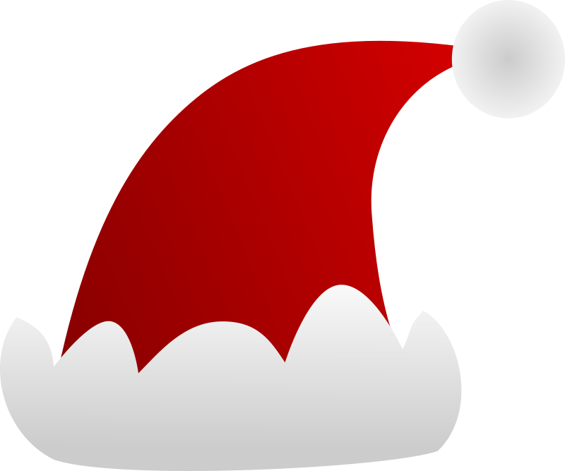 Free Simple Santa Hat Clip Art-Free Simple Santa Hat Clip Art-3