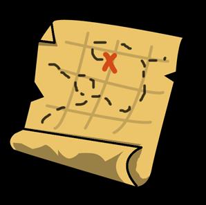 Free Simple Treasure Map Clip Art