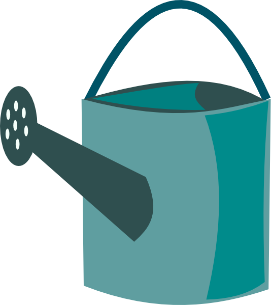 Free Simple Watering Can Clip Art-Free Simple Watering Can Clip Art-4