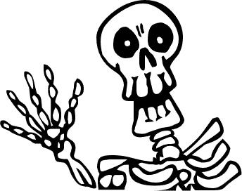 ... Free Skeleton Clipart - Public Domain Halloween clip art, images .