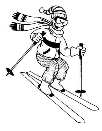 Free Skiing Clipart. Free Clipart Images-Free Skiing Clipart. Free Clipart Images, Graphics, Animated Gifs-3