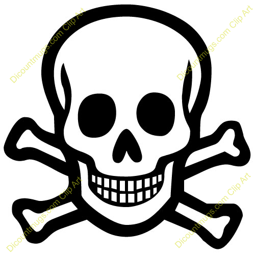 Free Skull And Crossbones Clipart Custom Clip Art