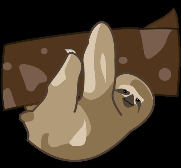 Free Sloth Clip Art-Free Sloth Clip Art-5