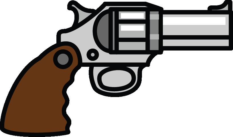 Pistol Silhouette Clip Art