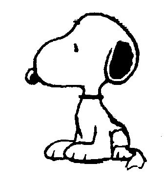 Free Snoopy Clip Art black and white | Arthuru0026#39;s Free Comic u0026amp; Cartoon Clip Art Page