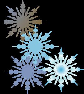 Free Snowflake Border Clipart .