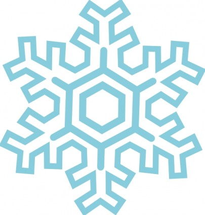 Free Snowflake Clipart-free snowflake clipart-9